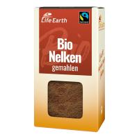 Fairtrade Bio Nelken gemahlen von Life Earth Verpackung