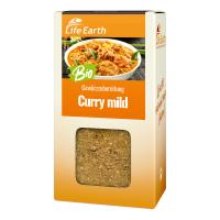 Bio Curry mild Gewürzmischung von Life Earth Verpackung