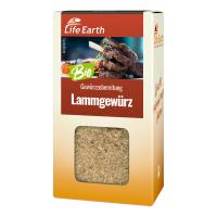 Bio Lammgewürz Gewürzmischung von Life Earth Verpackung