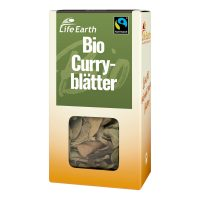 Fairtrade Bio Curryblätter von Life Earth Verpackung