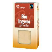 Fairtrade Bio Ingwer gemahlen von Life Earth Verpackung