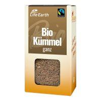 Fairtrade Bio Kümmel ganz von Life Earth Verpackung