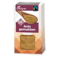 Fairtrade Bio Anis gemahlen von Life Earth Verpackung