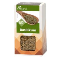 Bio Basilikum getrocknet von Life Earth Verpackung