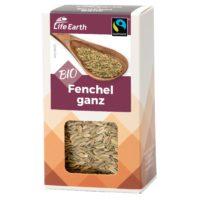 Fairtrade Bio Fenchel ganz von Life Earth Verpackung