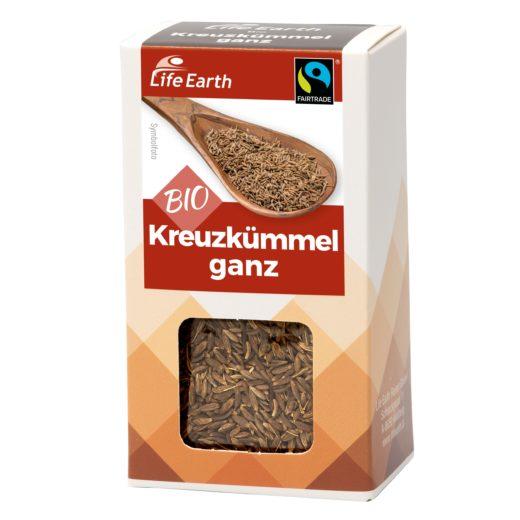 Fairtrade Bio Kreuzkümmel ganz von Life Earth Verpackung