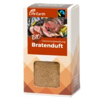 Fairtrade Bio Bratengewürz von Life Earth Verpackung