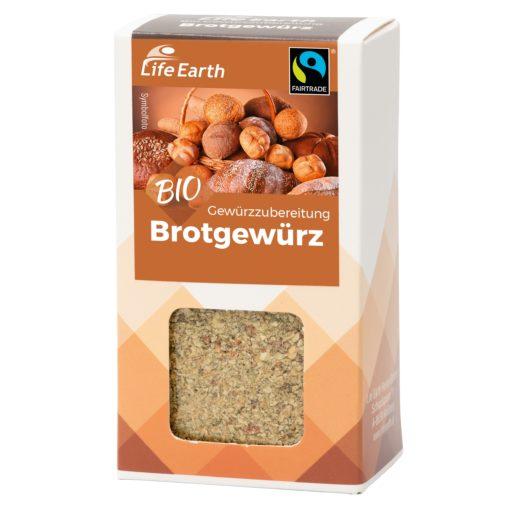 Fairtrade Bio Brotgewürz von Life Earth Verpackung