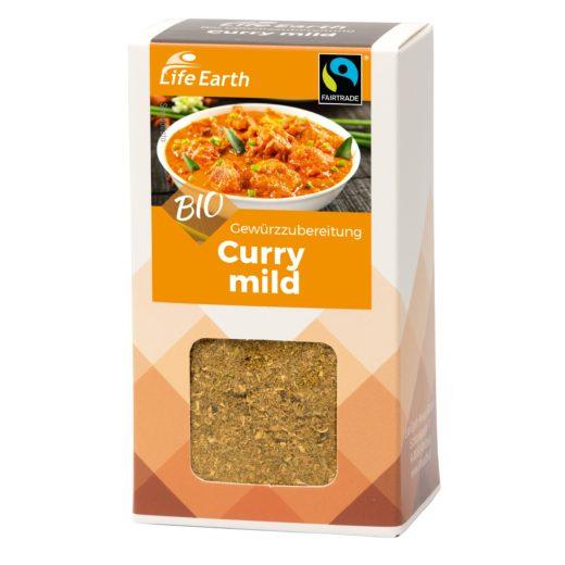 Fairtrade Bio Curry mild Gewürzmischung von Life Earth Verpackung