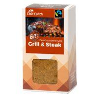 Fairtrade Bio Steakgewürz Gewürzmischung von Life Earth Verpackung