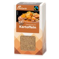 Fairtrade Bio Kartoffelgewürz Gewürzmischung von Life Earth Verpackung