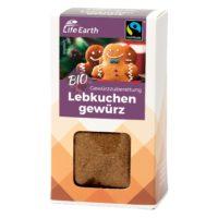 Fairtrade Bio Lebkuchengewürz Gewürzmischung von Life Earth Verpackung