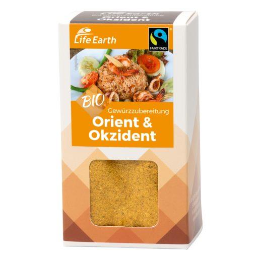 Fairtrade Bio Gewürz Orient & Okzident von Life Earth Verpackung