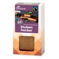 Fairtrade Bio Gewürzmischung Backen Stubenhocker von Life Earth Verpackung