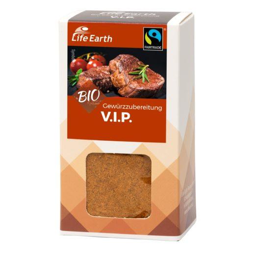 Fairtrade Bio Deluxe Gewürzmischung VIP von Life Earth Verpackung