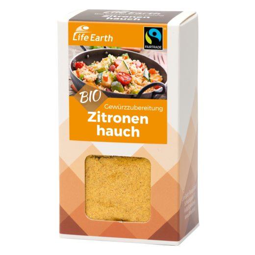 Fairtrade Bio Gewürzmischung Zitrone von Life Earth Verpackung