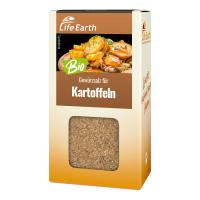 Bio Kartoffelgewürz Gewürzmischung von Life Earth Verpackung