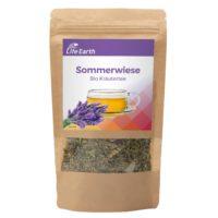 Bio Kräutertee Lavendel Sommerwiese von Life Earth im Beutel