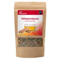 Fairtrade Bio Tee Winter Kräutertee von Life Earth im Beutel