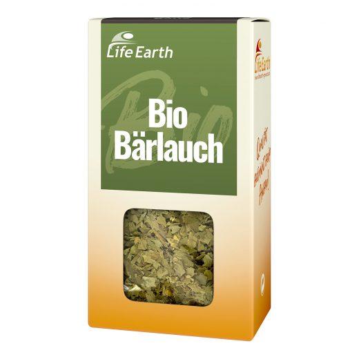 Bio Bärlauch getrocknet von Life Earth Verpackung