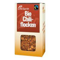 Fairtrade Bio Chiliflocken von Life Earth Verpackung