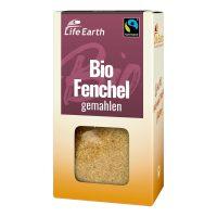 Fairtrade Bio Fenchel gemahlen von Life Earth Verpackung