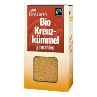 Fairtrade Bio Kreuzkümmel gemahlen von Life Earth Verpackung