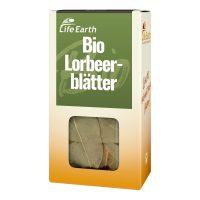 Bio Lorbeerblätter getrocknet von Life Earth Verpackung