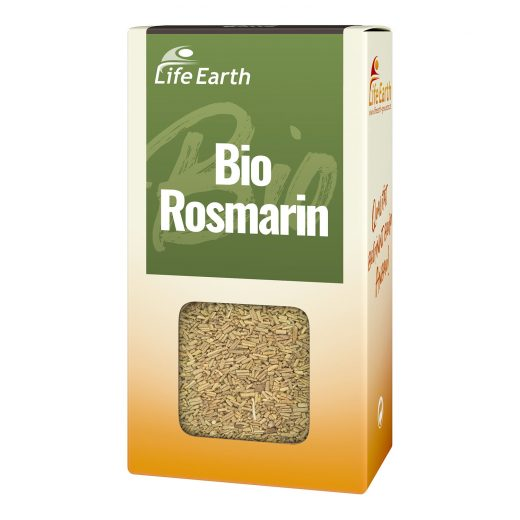 Bio Rosmarin getrocknet von Life Earth Verpackung