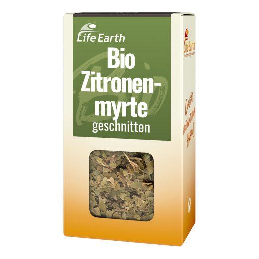 Bio Zitronenmyrte getrocknet von Life Earth Verpackung