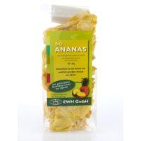 Bio Ananas getrocknet in Verpackung