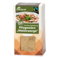 Fairtrade Bio Pilzgewürz Gewürzmischung von Life Earth Verpackung