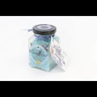"Fairtrade Badesalz Rose Blau ""Blue Rose"" im Glas"