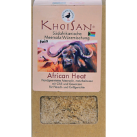 """KhoiSan Fairtrade Meersalzmischung """"African Heat"""" fein"""