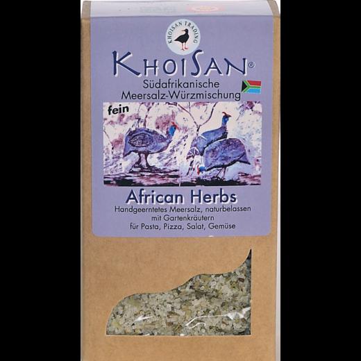 """Fairtrade Meersalz Kräuter """"African Herbs"""" in der Verpackung"""