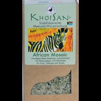 """Fairtrade Meersalz Algen """"African Mosaic"""" in der Verpackung"""