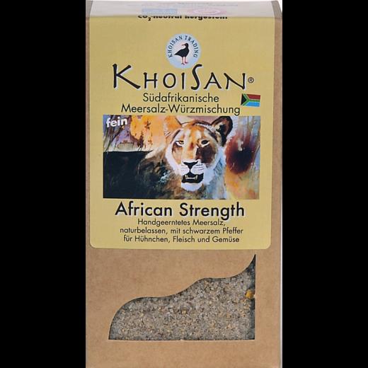 """Fairtrade Meersalz Pfeffer """"African Strength"""" in der Verpackung"""