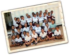 Stellar Organics Fairtrade Weine aus Südafrika: Schulklasse