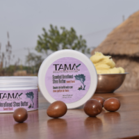 TAMA Sheabutter Lavendel Unraffiniert aus Ghana
