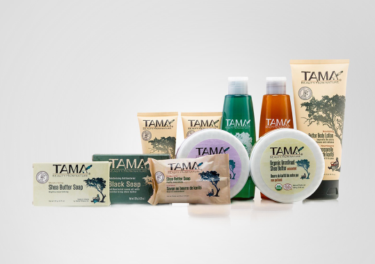 TAMA Sheabutter Produzent Naturkosmetik Produktübersicht