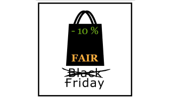 URfair Shop #FairFriday statt Black Friday 2018 Ankündigung