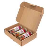 """URFair """"Blumen für dich"""" – Geschenkbox Tees"""