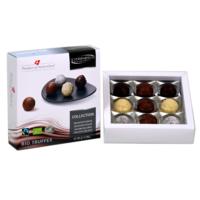 Fairtrade Bio Pralinen Collection von Schönenberger aus der Schweiz in der Geschenk-Packung