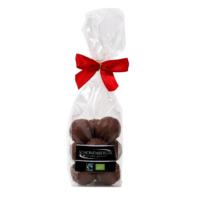Fairtrade Bio Milchschokolade Milchschokolade Pralinen von Schönenberger aus der Schweiz im Cellophanbeutel