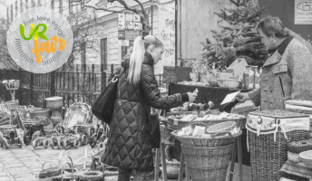 URfair am Weihnachtsmarkt Spittelberg in Kooperation mit Eine Welt Handel GmbH