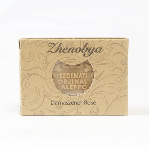 Bio Olivenöl-Alepposeife Aroma Damaszener Rose von Zhenobya aus Syrien