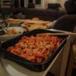 Die fertigen Speisen beim URfair Ayurveda Kochkurs mit Shivani Kapuria für die Gewinner unseres Advent-Gewinnspiels