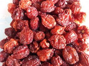 """Getrocknete Chili der Sorte """"Habanero Rot"""" vom URfair Produzenten Biogemüse Hautzinger"""