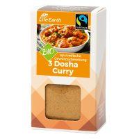 Fairtrade Bio 3 Dosha Curry Gewürzmischung von Life Earth Verpackung