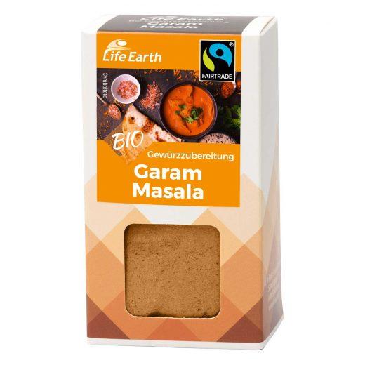Fairtrade Bio Garam Masala Gewürzmischung von Life Earth Verpackung